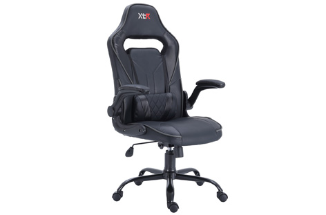 SILLON GAMER X20 NEGRO Y CARBONO