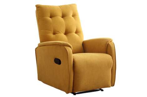 SILLON RELAX SWING MOSTAZA