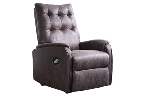 SILLON RELAX CANYON CHOCO VINT
